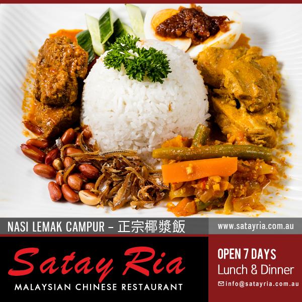 Restaurants Near Me Satay Ria